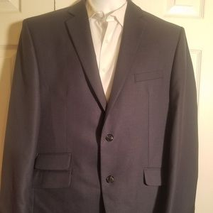 Perry Ellis Portfolio Navy blue blazer